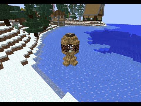 tuto minecraft lampadaire automatique - Lampadaire Minecraft