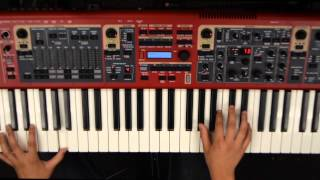 """COS Keys Tutorial for """"This Is Living"""" by Hillsong Young & Free"""