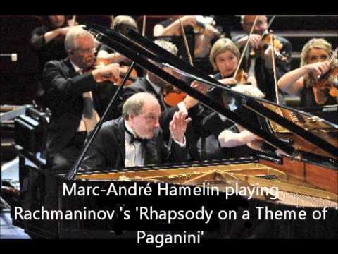 Marc André Hamelin - Rachmaninov - Rhapsody on a Theme of Paganini