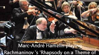 Marc André Hamelin - Rachmaninov - Rhapsody on a Theme of Paganini