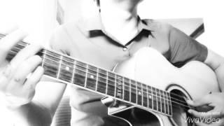 Anh cũng sống cũng biết nghĩ biết đau - cover guitar by long hoang