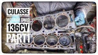 Vlog#24 DEPOSE CULASSE SUR MOTEUR PEUGEOT 406 DW12