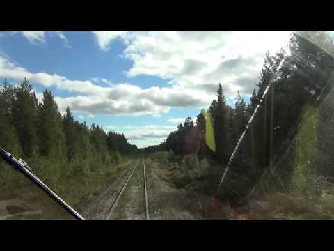 Inlandsbanan Cab Ride 1 (Sweden)