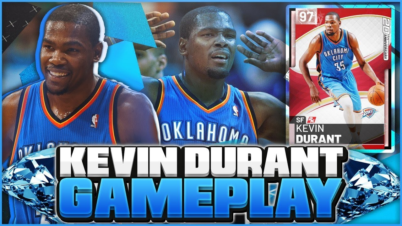 d9523ff496ed NEW PINK DIAMOND KEVIN DURANT GAMEPLAY! 11 HOF BADGES MAKES THIS CARD A  HIDDEN OPAL! NBA 2K19 MYTEAM
