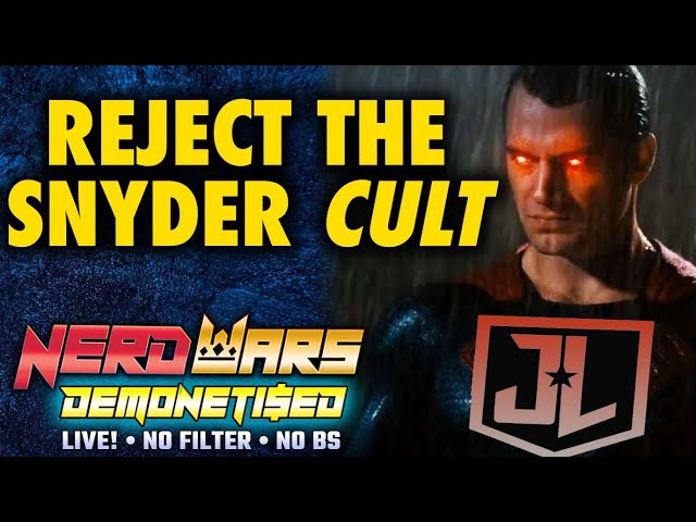 Reject The Snyder Cult - The Loud, Aggressive Minority of Zack Snyder's Justice League Fandom