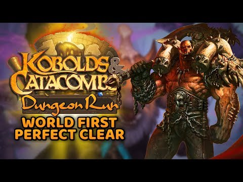 WORLD FIRST! Perfect Dungeon Run Clear! #1 - Warrior