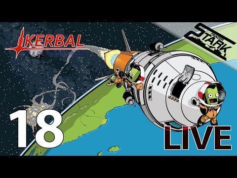 Kerbal Space Program - 18.Rész (űrállomást a duna-ra) - Stark LIVE