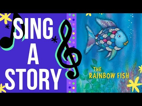 The Rainbow Fish | Sing A Story | Sing Along Song For Kids