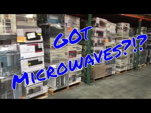 WM Assorted Microwave Pallets