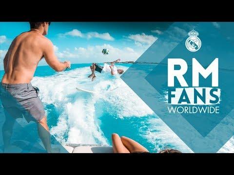Real Madrid: Football vs wakeboarding