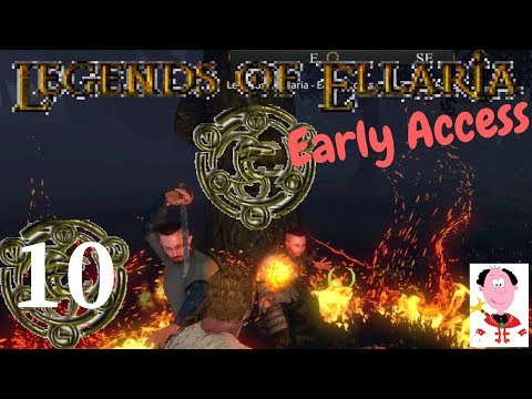 Legends of Ellaria - Early Access - E10 - Making Friends