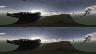 Virtual Reality sample of the Bombing of Darwin Harbour