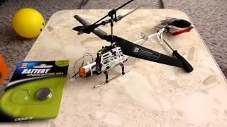 Замена аккумулятора на вертолете