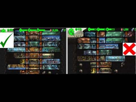 - Fallout Shelter-Managing You Vault- PART 1////////Rooms