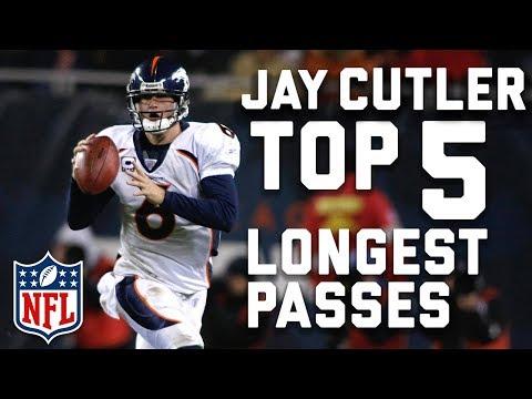 Jay Cutler's Longest Passes Through The Air... So Far   NFL Highlights