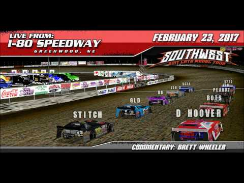 Southwest Dirt Late Models from I-80 Speedway! W/ Commentary!