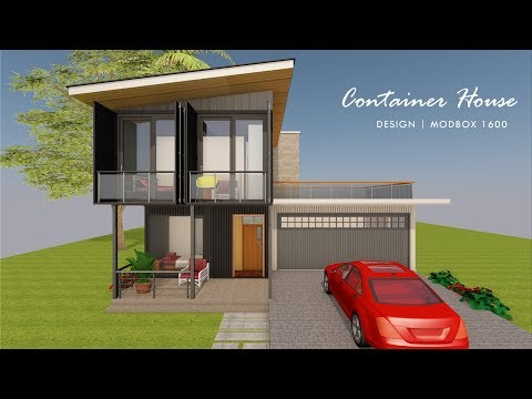 4 Bedroom Shipping Container Home Floor Plans Design | MODBOX 1600
