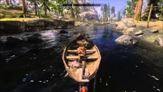 Skyrim MOD: Finally! Real Boats!