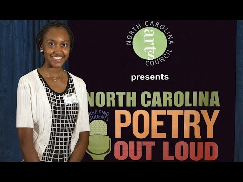 2017 NC Poetry Out Loud Champ Heads to National Finals