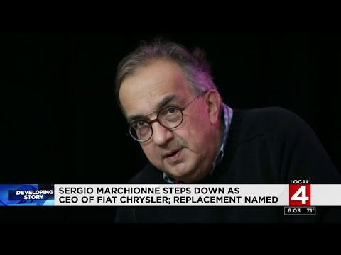 Sergio Marchionne steps down as CEO of Fiat Chrystler