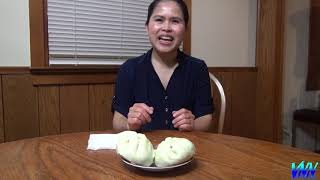 Ăn Bánh Bao Lá Dứa Ở Mỹ