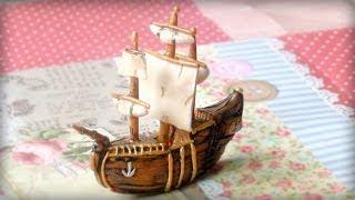ספינת פיראטים מפלסטלינה