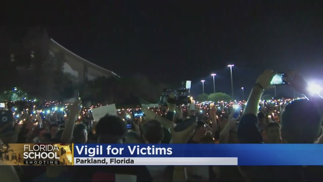 Candlelit Vigil Honors Florida School Shooting Victims; Motive Still A Big Question