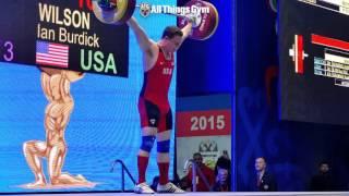 Ian Wilson 162kg Snatch