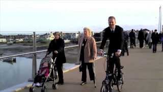 Grand Opening Of The Adur Ferry Bridge In Shoreham-by-sea