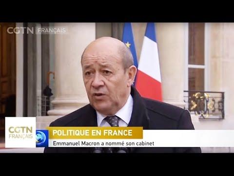 Emmanuel Macron a nommé son cabinet