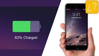 Cómo calibrar la batería de nuestro iPhone