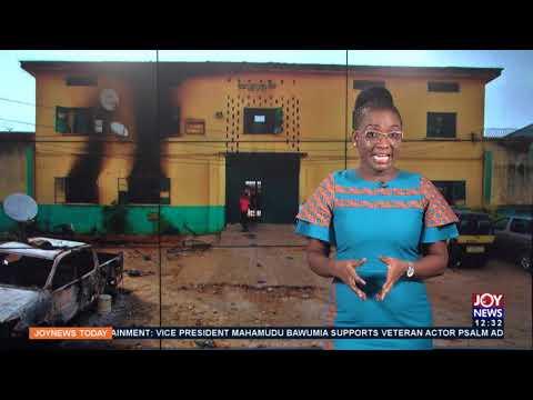 Nigeria Prison Break: Armed men aid escape of at least 240 prisoners in Kogi state (14-6-21)