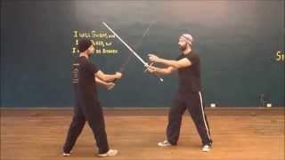 Longsword Techniques, Lesson 2: Zornhau, High and Low