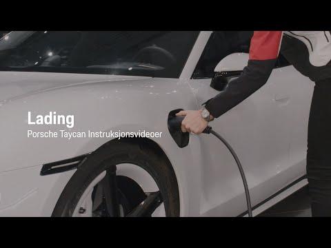 Lading | Porsche Taycan Instruksjonsvideo