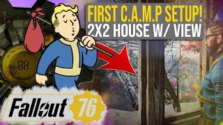 [EASY] Fallout 76 Early Base Build | Fallout 76 Beginner's Base! | My First Fallout 76 C.A.M.P!