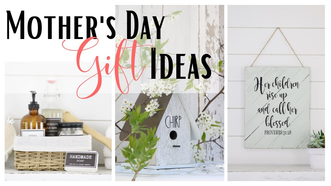 Mother S Day Gift Ideas Diy Gift Ideas Gift Ideas For Mom