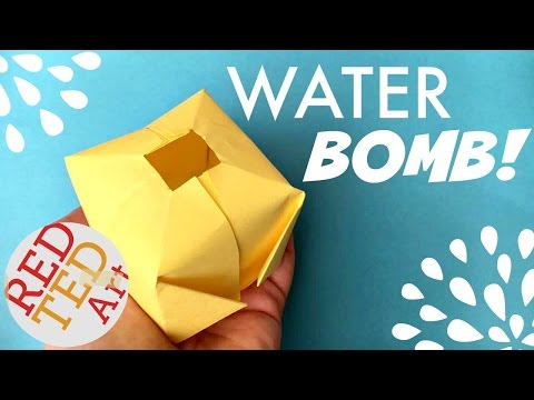 Thumbnail: Easy Origami Water Bomb DIY (aka Paper Balloon) - Fun Origami for Summer