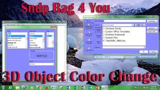 computer best Windows Tips and tricks 2019 part 3 change window 3D object color