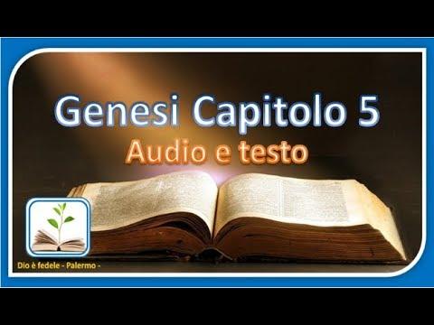 Genesi Capitolo 5 - Audio e testo
