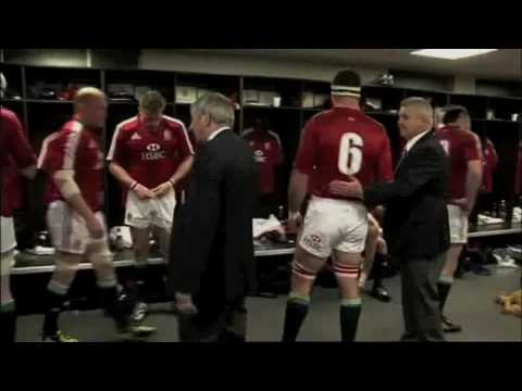 Lions Team Talk 3rd Test