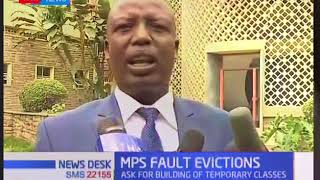 Parliamentary Committee on Education faults government over ongoing evictions