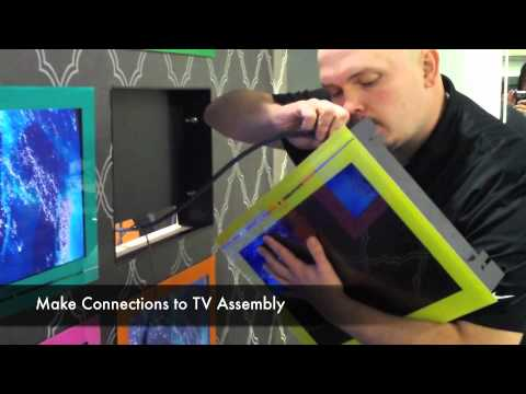 Flatscreen TV   2-Minute Installation   Hydra Waterproof Television   Seura