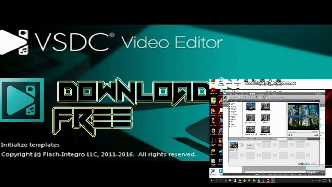 VSDC Free video Editor - download now !!