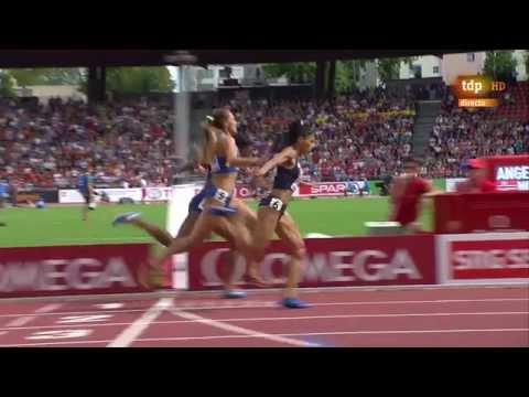 4x400m relay women final European Athletics Championships 2014 Zurich
