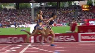 4x400m relay women final European Athletics Championships 2014 Zurich