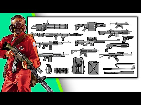 How To Get ALL WEAPONS IN GTA V?