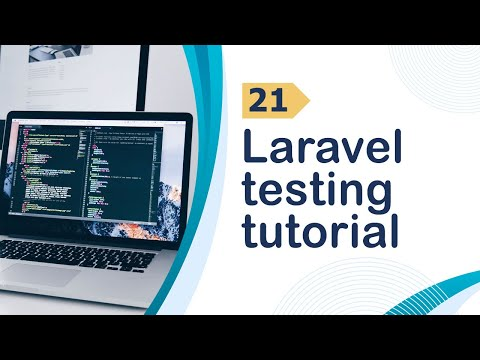 Laravel Testing Tutorial Video ID Attribute using Accessors and Logout - 21
