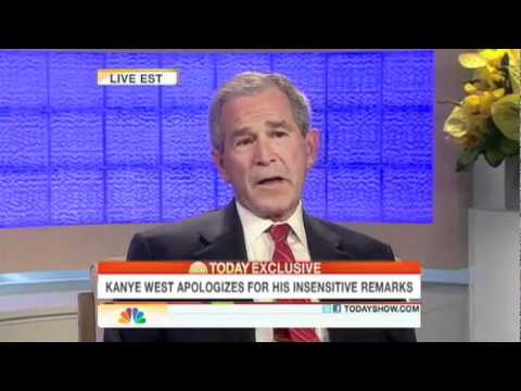 Kanye West apologizes to George W. Bush
