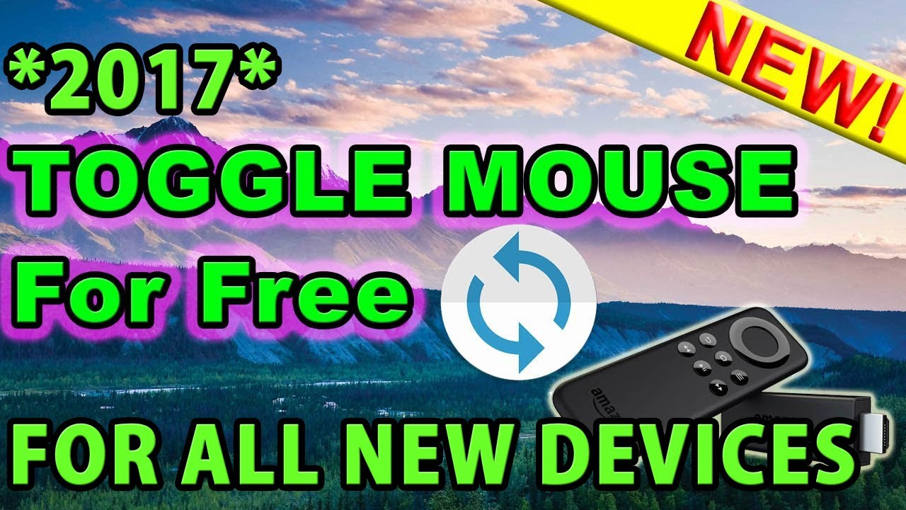 HOW TO GET MOUSE TOGGLE/FREE VIRTUAL MOUSE FOR YOUR FIRE STICK & ANDROID  DEVICES !! (100% FREE)