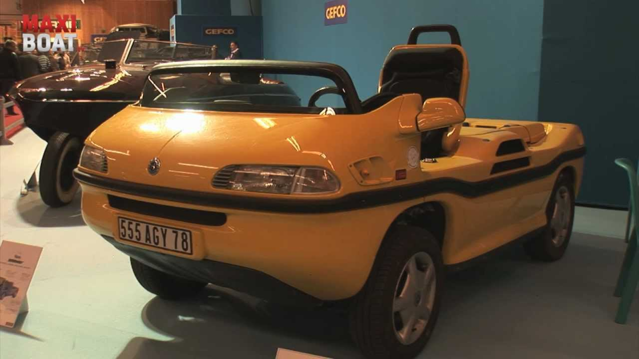 retromobile 2012 reportage sur les voitures amphibies. Black Bedroom Furniture Sets. Home Design Ideas
